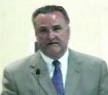 Board President John Venturalla