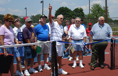 Middletown Pickleball Ribbon Cutting