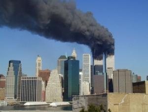 WTC Burning